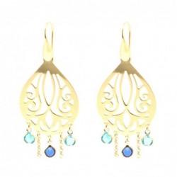 orecchini donna pendenti con cristalli